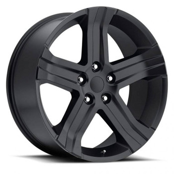 Satin Black Dodge Ram 1500 Replica Wheels Rims FR69