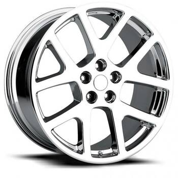 Chrome Jeep Gran Cherokee Viper Replica Wheels Rims FR64