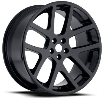 Gloss Black Jeep Gran Cherokee Viper Replica Wheels Rims FR64