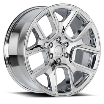 Chrome Dodge Ram 1500 Replica Wheels Rims FR76