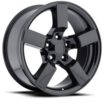 Gloss Black Ford F150 Lightning Replica Wheels Rims FR50