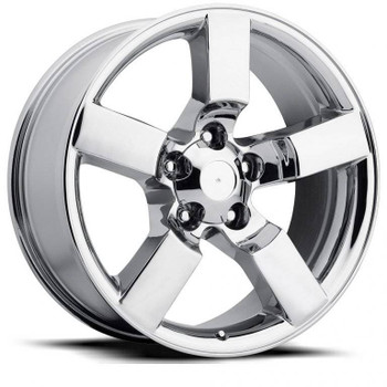 Chrome Ford F150 Lightning Replica Wheels Rims FR50