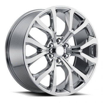 Machined Face Black Ford Expedition Platinum Replica Wheels Rims FR52