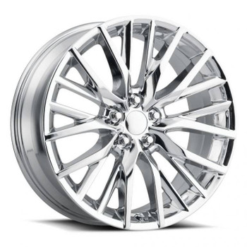 Chrome Lexus ES300 F-Sport Replica Wheels Rims FR80