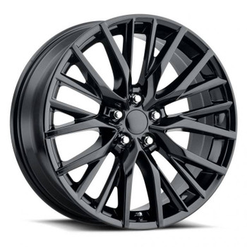Gloss Black Lexus ES300 F-Sport Replica Wheels Rims FR80