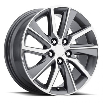 Machined Face Gray Lexus ES300H Replica Wheels Rims FR82
