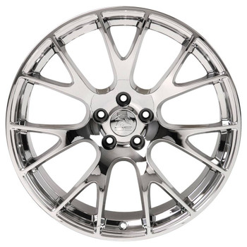 "22"" Chrome Hellcat wheel replacement for Dodge Charger. Replica Rim 9507540"