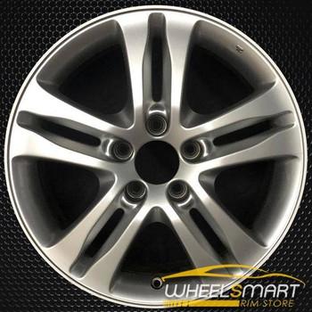 """17"""" Honda CRV OEM wheel 2010-2011 Silver alloy stock rim 42700SWAA73, 42700SYEA71, 42700SWAA71"""