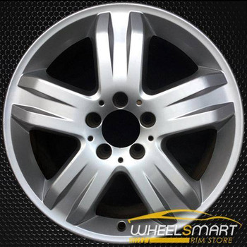 "17"" Mercedes ML350 OEM wheel 2005 Silver alloy stock rim A1634013902, 1634013902"