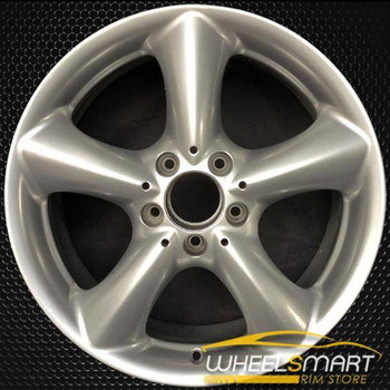 "17"" Mercedes C Class OEM wheel 2006 Hypersilver alloy stock rim 2034013502"