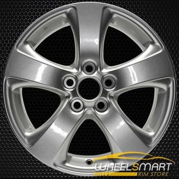 "17"" Toyota Sienna OEM wheel 2011-2019 Silver alloy stock rim 4261108070 , 4261108080"