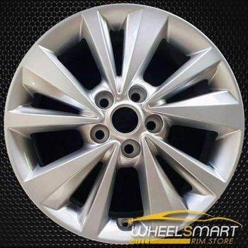 "17"" Kia Sedona OEM wheel 2015-2018 Silver alloy stock rim 52910A9150"