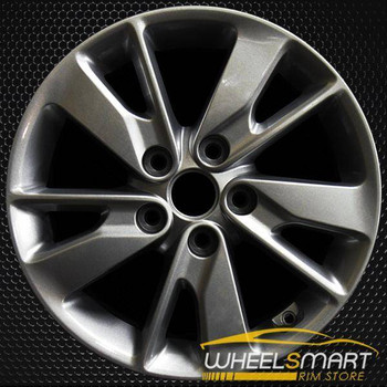 "16"" Kia Optima OEM wheel 2016-2018 Charcoal alloy stock rim 52910D5130, 52910D4130, 52910D5110"