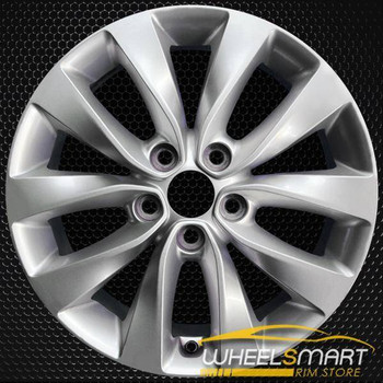 "17"" Kia Optima OEM wheel 2016-2018 Silver alloy stock rim 52910D5210, 52910D5200"