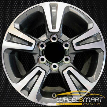 "17"" Toyota TACOMA OEM wheel 2016-2019 Machined alloy stock rim 4261104170"