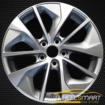 "17"" Toyota RAV4 OEM wheel 2016-2018 Machined alloy stock rim 4261142680"