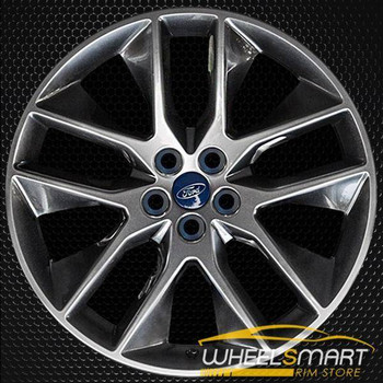 "20"" Ford Edge OEM wheel 2016-2018 Hypersilver alloy stock rim GT4C1007D7A"