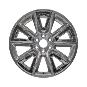 5696u78 Chevy Silverado replacement wheels Hypersilver rims  22905550