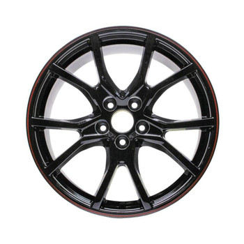"20"" Honda Civic replica wheels 2017-2020 Black rim 64116"