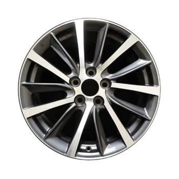 """18x7.5"""" Toyota Highlander replica wheels 2017-2020 rim ALY75214U35N"""