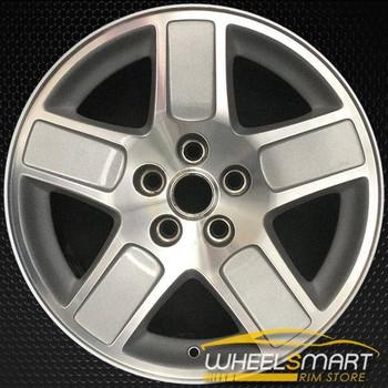 "17"" Dodge Magnum OEM wheel 2005-2007 Silver alloy stock rim 1CG58TRMAA, AWFPC, C7F1C, OUQ66TRMAA"