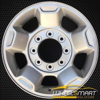 """17"""" Ford F250 F350 OEM wheel 2010-2012 Silver alloy stock rim AC3Z1007A, AC341007RA"""