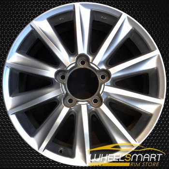 "20"" Lexus LX570 OEM wheel 2008-2011 Hypersilver alloy stock rim 4261A60040, 4261A60010"