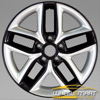 "17"" Kia Forte OEM wheel 2010-2013 Black alloy stock rim 529101M350"