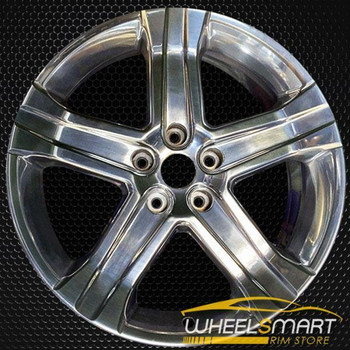 "22"" Dodge Pickup OEM wheel 2011-2012 Polished alloy stock rim 52014257AA"