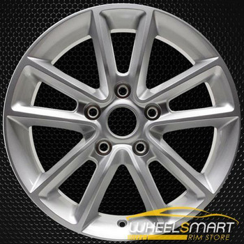 "17"" Dodge Caravan OEM wheel 2011-2013 Silver alloy stock rim 1SP68DD5AA"
