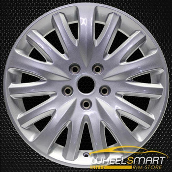 "17"" Ford Fusion OEM wheel 2010-2012 Silver alloy stock rim 9H6Z1007C, 9H6C1007CC"