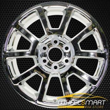 "20"" GMC Yukon OEM wheel 2015-2020 Chrome alloy stock rim 20937766, AAJN"