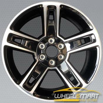 "22"" Cadillac Escalade OEM wheel 2014-2017 black alloy stock rim 19301160"