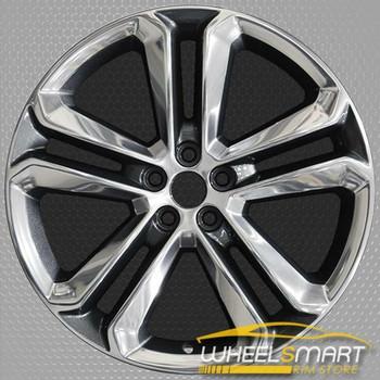 "20"" Ford Edge OEM wheel 2015-2018 Polished alloy stock rim FT4Z1007F, FT4C1007F1A, FT4C1007F1B, FT4CF1A, FT4CF1B"