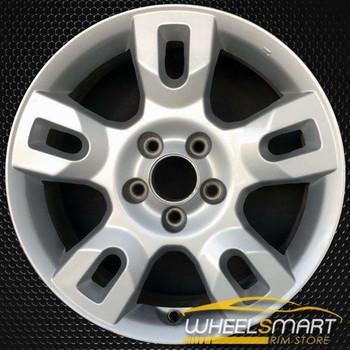 """17"""" Acura MDX OEM wheel 2004-2006 Silver alloy stock rim 188671736U20S, 42700S3VA60, 42700S3VA61, 615343060842, AC86UN7510F, AC86UN7510FV, TPSTR0001U1"""
