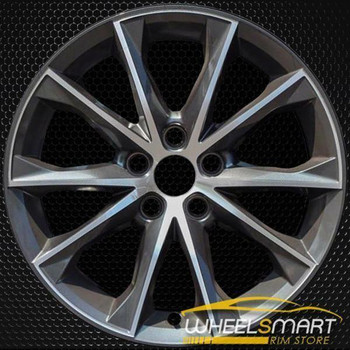 "18"" Toyota Camry OEM wheel 2015-2017 Machined alloy stock rim ALY75172U30"