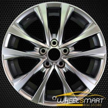 """18"""" Toyota RAV4 OEM wheel 2016-2018 Hypersilver alloy stock rim 4261A42070, 4261A0R020, 4261A0R030, 4261A42090"""