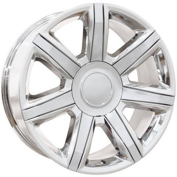 "22"" Chevy C2500 replica wheel 1988-2000 Chrome rims 9506436"