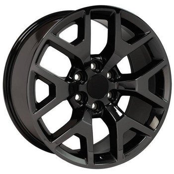 "20"" Chevy Avalanche replica wheel 2002-2013 Black Chrome rims 9507873"