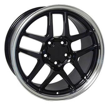 "18"" Pontiac Firebird  replica wheel 1993-2002 Black Machined rims 4750666"