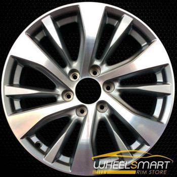 "20"" Infiniti QX80 oem wheel 2015-2017 Machined alloy stock rim 73769"