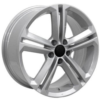 "18"" Volkswagen VW GTI replica wheel 2006-2018 Silver rims 9457386"