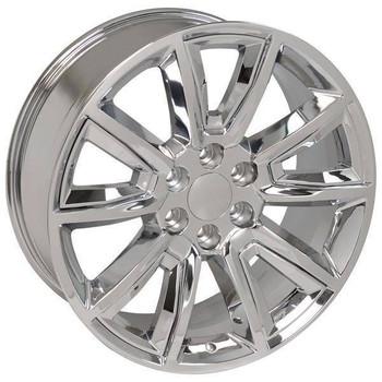 "22"" Chevy Avalanche replica wheel 2002-2013 Chrome rims 9507613"