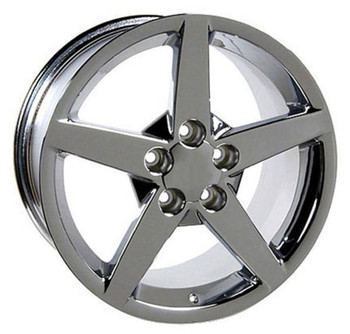 "17"" Pontiac Firebird replica wheel 1993-2002 Chrome rims 4750498"