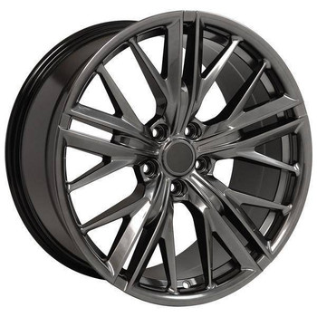 "20"" Chevy Camaro replica wheel 2010-2018 Hyper Black rims 9506890"