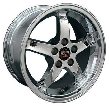 "17"" Ford Mustang replica wheel 1994-2004 Chrome rims 8181900"