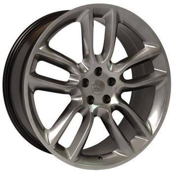 "22"" Lincoln MKT replica wheel 2010-2018 Hyper Black rims 9503423"