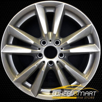 "18"" BMW X5 oem wheel 2014-2018 Silver alloy stock rim 86042"