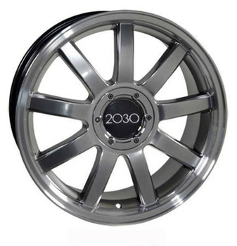 "18"" Volkswagen VW CC replica wheel 2009-2018 Hypersilver Machined rims 5910050"