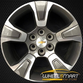 "17"" Chevy Colorado oem wheel 2015-2018 Charcoal alloy stock rim 5671"